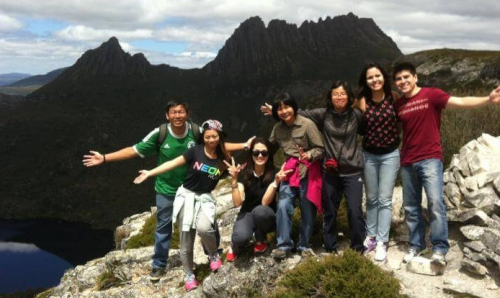 Cradle Mountain Day Tour lookout